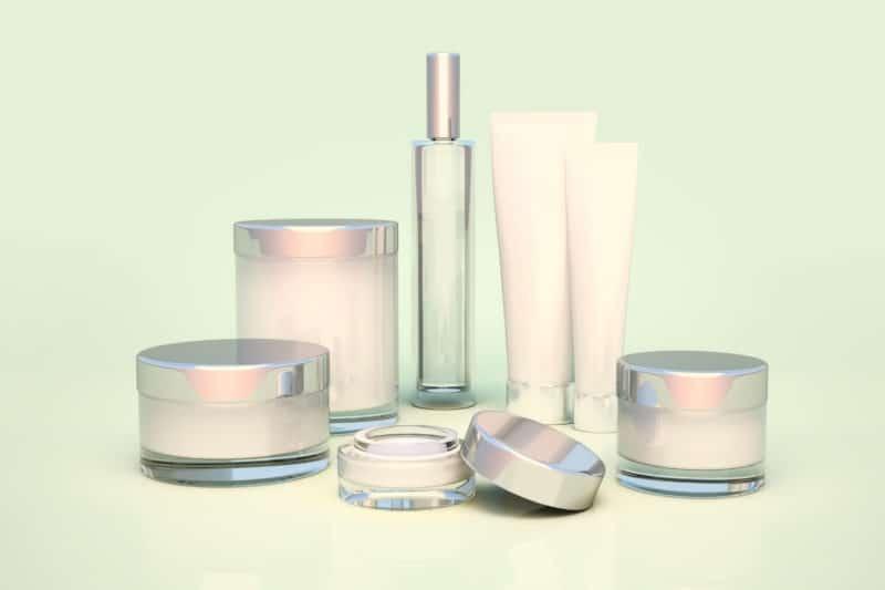 Pompes application cosmétique