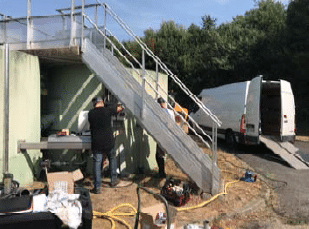 Pompe application station d'épuration