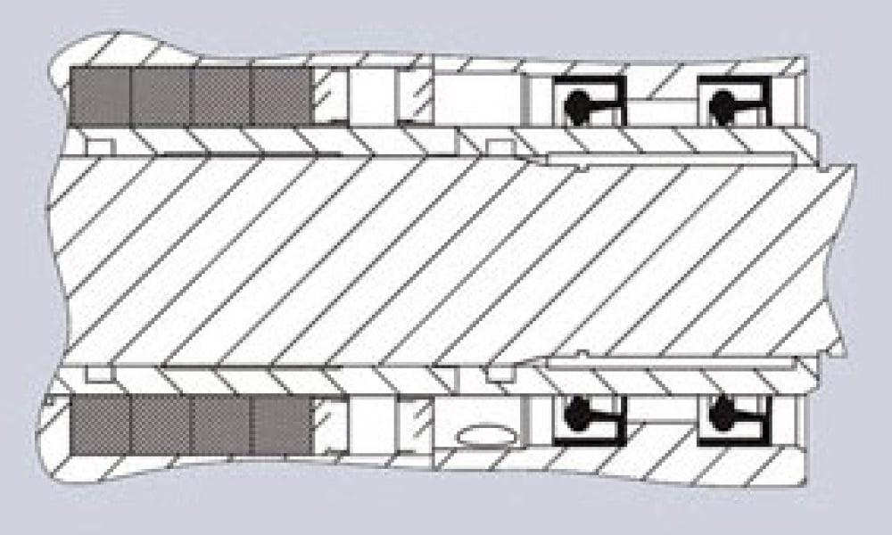 garniture cominaison Tresse+Lipseal+Flussage